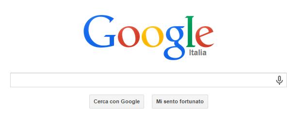 google home page pagina iniziale