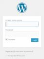 accedere wp login