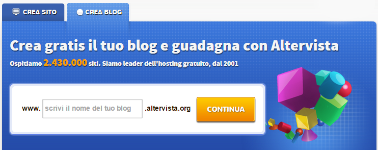 crea blog