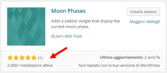 moon rating