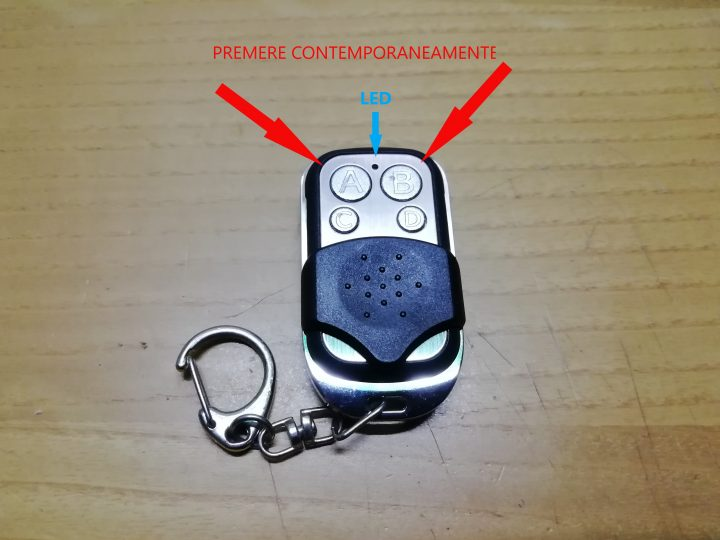 telecomandino wireless universale